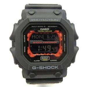 G-SHOCK G-Shock CASIO Casio Watch GXW-56-1AJF Big Case Face Square Digital Tough Solar Radio World Time GX Series Black Red Men's Gift Present 256442