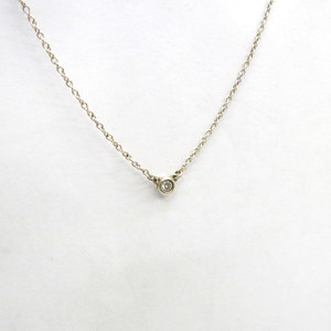377413 RYB4561 Tiffany & Co. Necklace By The Yard Silver 925 Simple Accessory Ladies Bag
