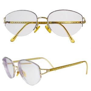 Christian Dior Reading Glasses Logo Gold
