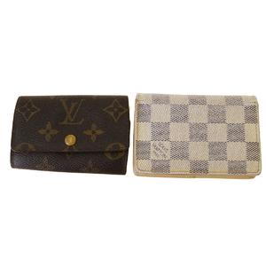 ルイ・ヴィトン(Louis Vuitton) モノグラム 2点セット カード PVC キーケース ダミエ・アズール,モノグラム