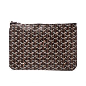 Goyal clutch bag GOYARD Sena POCHETTE SENAT MM black