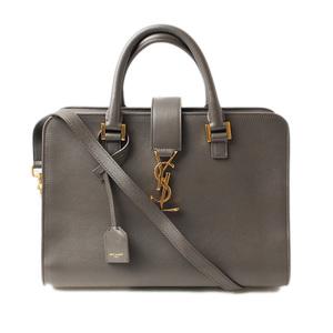 Saint Laurent handbag shoulder bag SAINT LAURENT PARIS light gray 357395 BOO0J 2065 2way