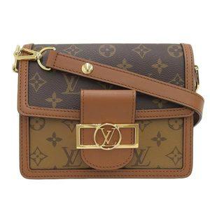 LOUIS VUITTON Louis Vuitton monogram reverse Lady's Dauphin MINI 2WAY shoulder bag M44580