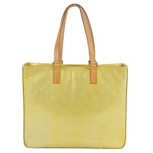 Louis Vuitton Monogram Vernis Columbus Tote bag Beige M91023