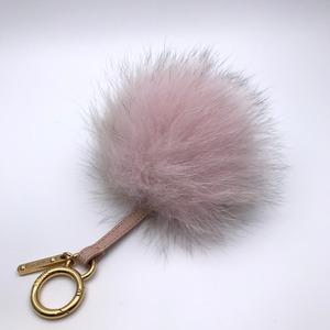 Fendi Bonbon Ladies Charm Fur Leather Pink