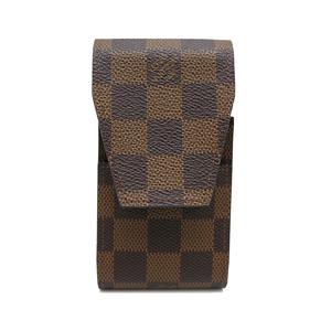 Louis Vuitton Etuy Cigarette Case Ladies Other Accessories N63024 Damier Canvas Evenu Brown DH52052
