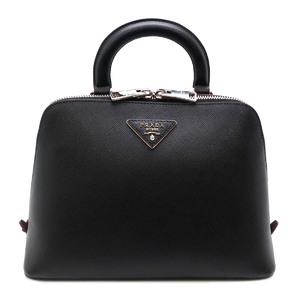 Prada 2WAY Ladies Backpack Daypack 1BZ003 Saffiano Leather Black DH51840