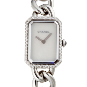 Chanel Premiere Bezel Diamond Ladies Watch H3253 Stainless Steel Shell Dial DH53497