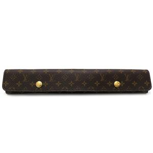 Louis Vuitton Watch Case Ladies Men Other Accessories Monogram Canvas Brown DH55086