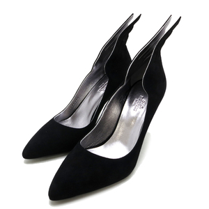 Hermes Pumps Vector Women's Other Shoes 192023Z Leather Black DH54581