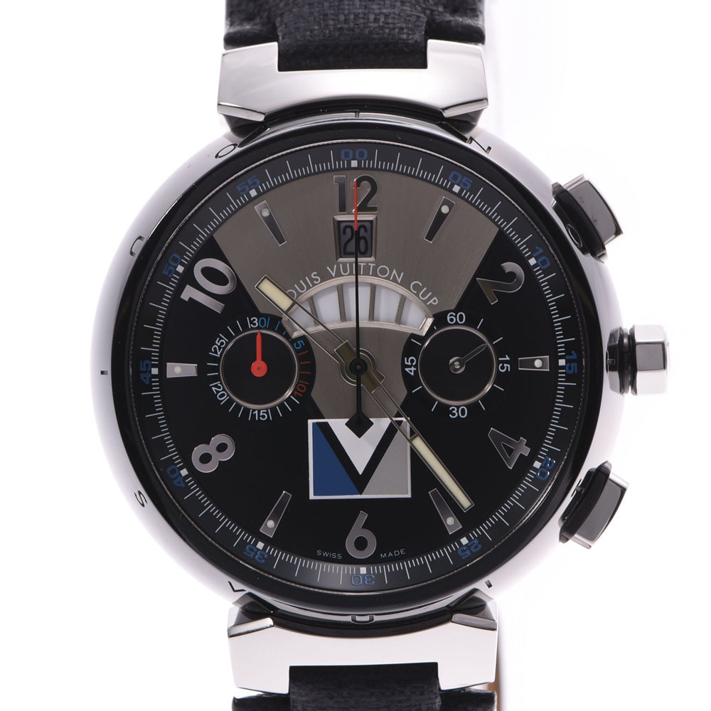 Louis Vuitton Tambour Automatic PVD Men's Watch