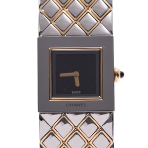 Chanel Matelasse Quartz Gold Plated Women's Watch Watch quartz