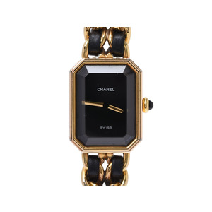 Chanel Premiere Quartz Gold Plated Women's Watch H0001