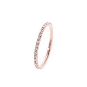 TIFFANY & Co. Tiffany Metro Ring No. 8 Ladies PG Diamond