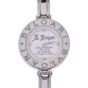 Bvlgari B-ZERO Bangle Watch 125th Anniversary Ladies SS Quartz White Dial BVLGARI