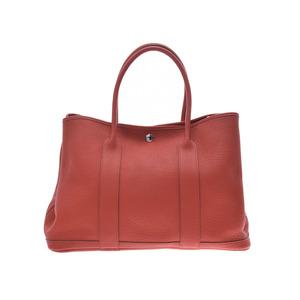 Hermes Garden Party 36 Zangine SV Metal Fitting □ P Engraved Ladies Negonda Handbag HERMES