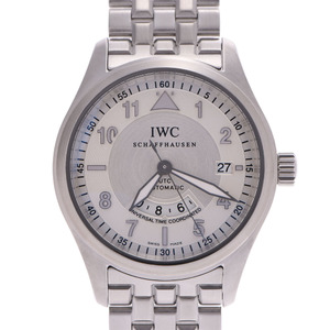 IWC SCHAFFHAUSEN Idabrucei Schaffhausen Spirit Fire UTC IW325112 Mens SS Watch Automatic winding Ivory Dial