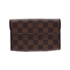 Louis Vuitton Damier Pochette Florantine SP Order Brown N51856 Ladies Genuine Leather LOUIS VUITTON