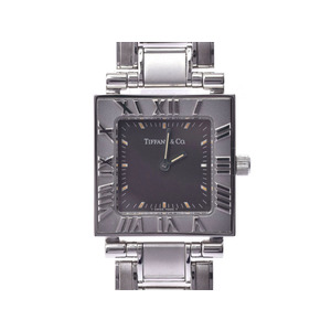 Tiffany Atlas Quartz Stainless Steel Women's Watch Square