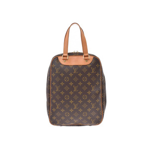 Louis Vuitton Monogram Excursion Brown M41450 Men Women Genuine Leather Shoe Bag LOUIS VUITTON