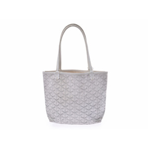 Goyard Saint Louis Junior White Ladies PVC Handbag Pouch