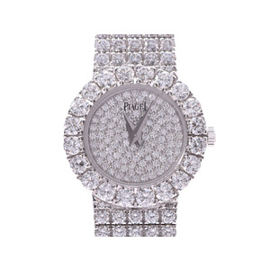 Piaget Limelight Full-face diamond Ladies WG Manual winding watch PIAGET