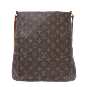LOUIS VUITTON Louis Vuitton Monogram Musette M51256 Unisex Canvas Shoulder Bag
