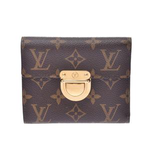 LOUIS VUITTON Louis Vuitton Monogram Pult Foy Koala Brown M58013 Unisex Canvas Tri-Fold Wallet