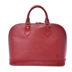 LOUIS VUITTON Louis Vuitton Epi Alma Castillian Red M52147 Ladies Leather Handbag