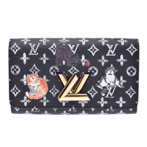 LOUIS VUITTON Louis Vuitton Monogram Catgram Twist Chain M63888 Ladies Shoulder Bag