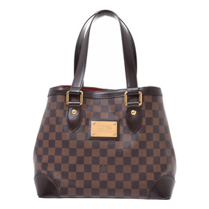 LOUIS VUITTON Louis Vuitton Damier Hampstead PM Brown M51205 Ladies Canvas Handbag