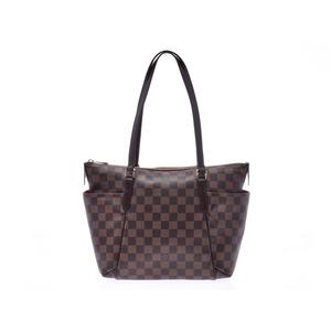 Louis Vuitton Damier Totally PM Brown N41282 Ladies Genuine Leather Tote Bag LOUIS VUITTON