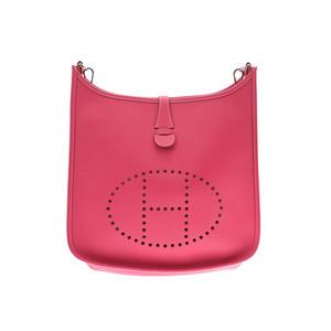 HERMES Hermès Evelyn 3 PM Rose Tyrian silver hardware □ R engraved (around 2014) Ladies Vor Epson shoulder bag