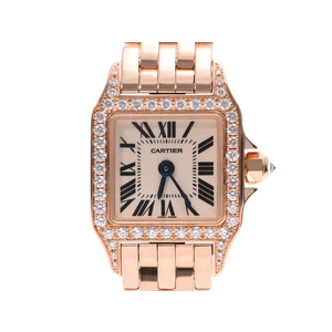 Cartier Pink Gold (9K) Women's Watch Mini Santos Dumoiselle