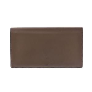 HERMES Citizen Twill Etoop □ P Engraved Men's Ladies Swift Wallet