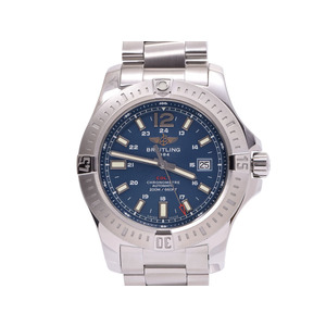 Breitling Colt Blue Dial A17388 Men's SS Automatic winding watch BREITLING