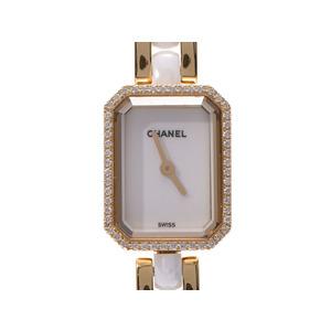 CHANEL Premiere H2435 Ladies Diamond Bezel 18K Gold Ceramic Quartz Watch Repair Details