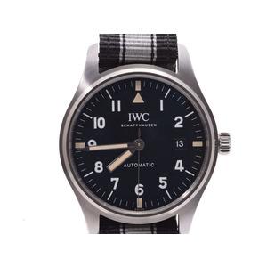 IWC Pilot Watch Mark 18 Tribute To 11 Black Dial Mens SS Nylon Self-winding Beautiful Goods