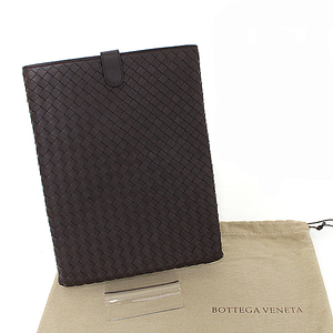 Bottega Veneta BOTTEGA VENETA iPad case Tablet Leather Brown Unisex