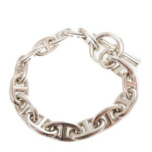 Hermes Shane dunkle bracelet 15 tops silver 925 24cm full length accessories 0119HERMES