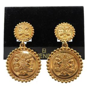Fendi Vintage Earrings Gold