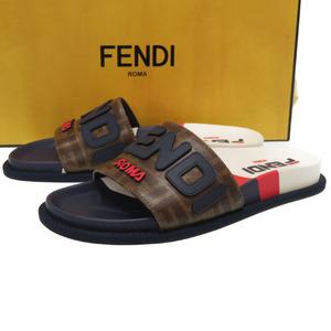 FENDI × FILA Fendi Mania sandals size 38 Fira 0156