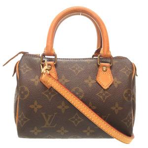 Louis Vuitton Monogram Speedy 20 Vintage 2WAY Handbag Bag LV 0158 LOUIS VUITTON