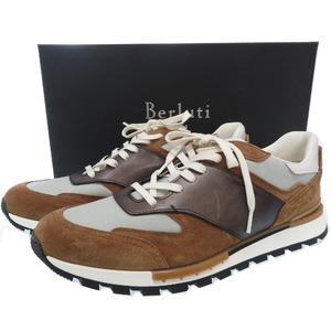 Berluti run track Torino sneakers leather brown 0122BERLUTI