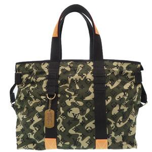 Louis Vuitton tray camouflage Takashi Murakami M95783 tote bag monogram LV