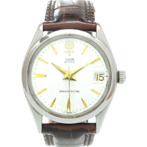 Tudor Oyster Decabara Manual winding watch Stainless steel White dial 0004TUDOR Men