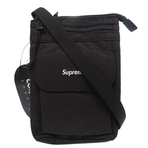 Supreme 2019A W Shoulder bag Nylon Bag Black