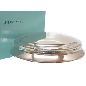 Tiffany Silver Jewelry Case Multi