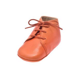 Hermes Baby Unisex First Walking Shoes (Orange) 18