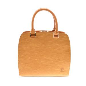 LOUIS VUITTON Louis Vuitton Epi Pont Neuf Yellow M52059 Ladies Leather Handbag